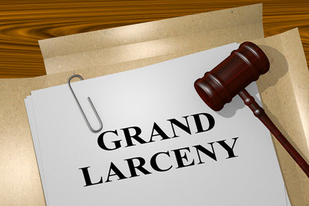 Grand Larceny Fines, Penalties, Jail Time